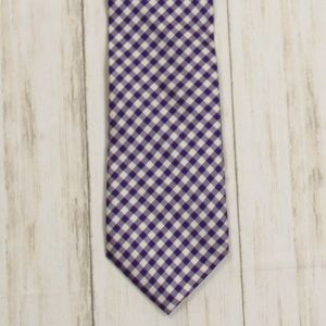 Tommy Hilfiger Gingham Checked Tie